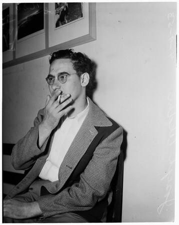 Embezzler -- Lie detector test, 1953