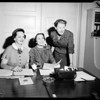 Association: Visiting Nurse Association headquarters, 1954