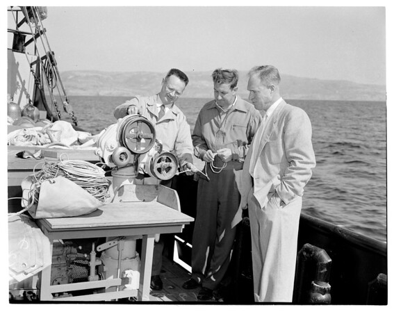 """U.S. fish and wildlife research boat """"Charles H. Gilbert"""", 1954"""
