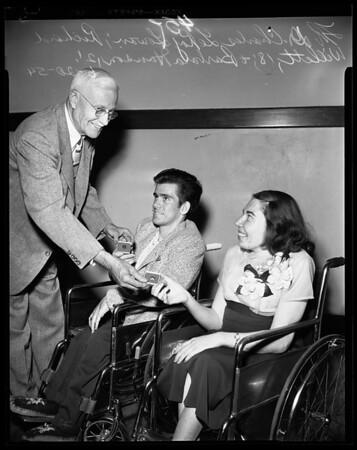 Orthopaedic Hospital Achievement Awards, 1954