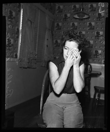 Woman murders husband while he was sleeping,  1955