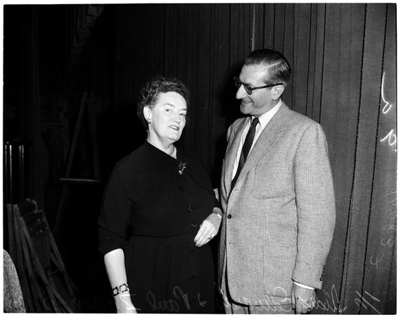 Democratic Workshop Conference in Pacific Palisades, 1953