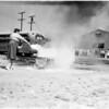 School bus fire drill (Arcadia), 1958