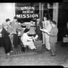 Union Rescue Mission (63rd anniversary), 1954