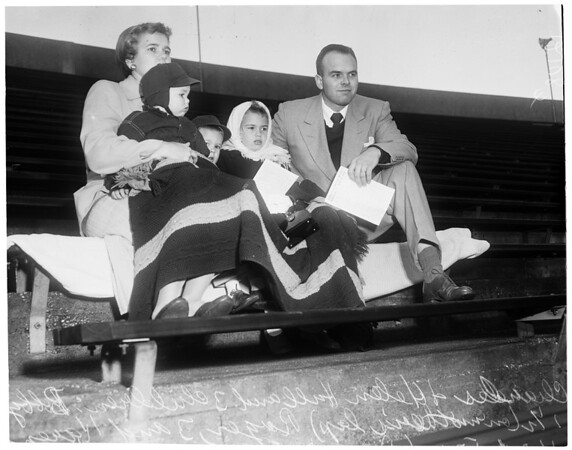 Rose Bowl Easter Sunrise Services, 1957