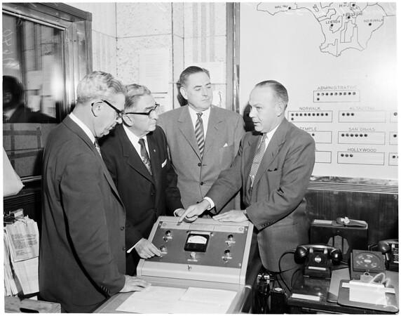 Civilian Defense Alert (Hall of Justice),  1955