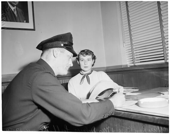 Bank job, 1954