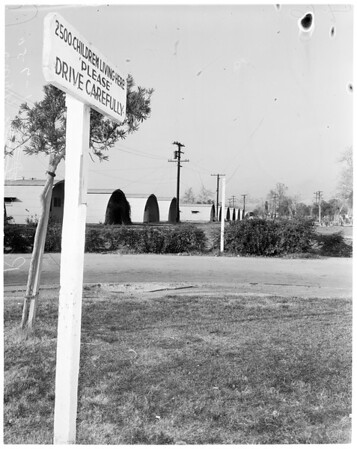 Rodger Young Village and Basilone Homes housing, 1954