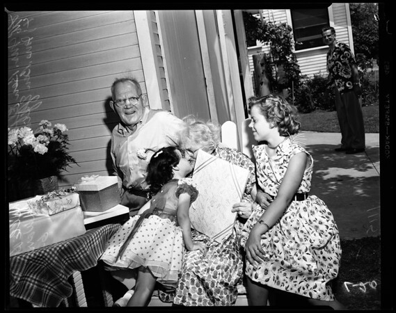 60th wedding anniversary at 4908 Union Avenue, 1954