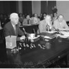 Racing board hearing on Cornell, 1957