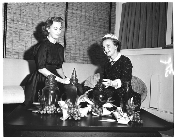 Marymount women and fashion luncheon, 1955