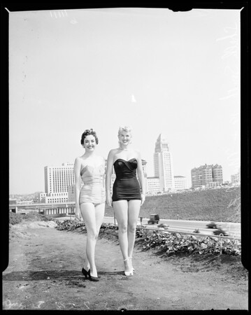 """""""Miss Los Angeles"""" Contest, 1954"""