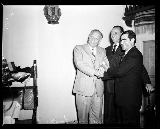 Governors meeting, 1954