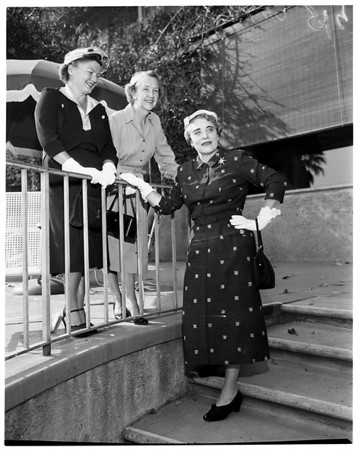California Babies Hospital, Huntington Hotel , 1955