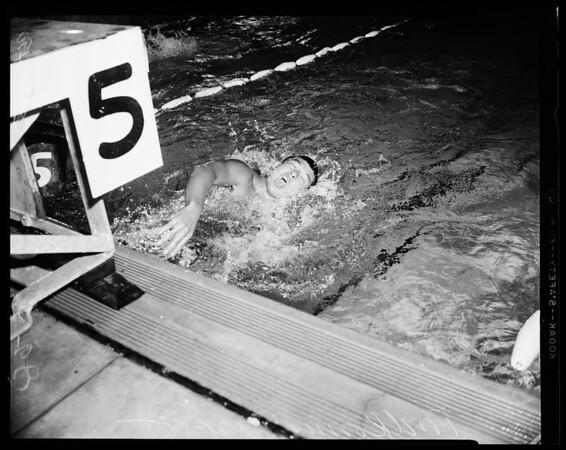 National Amateur Athletic Union Swim Championships Olympic Plunge, 1955