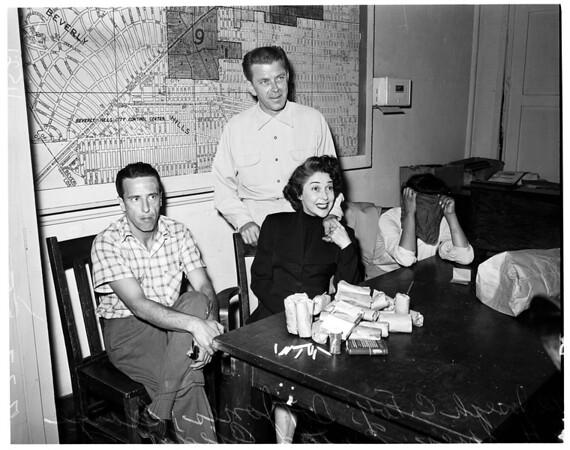 Vice raid (West Hollywood), 1955