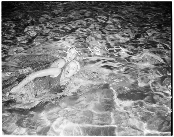 Swimming, 1957