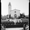 Graduation at Mount St. Mary's College, 1954