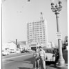 Caught baseball from 12 story roof, 1954