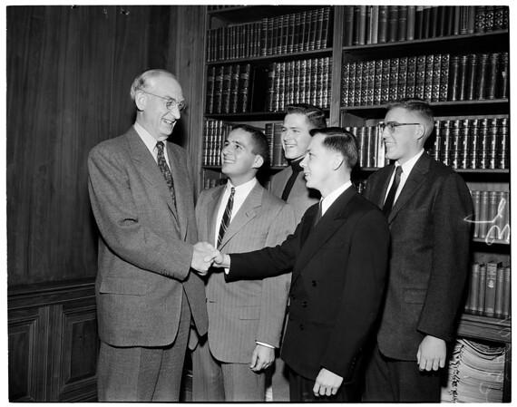 Rhodes scholarships, 1953