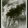 U.S. bombers blast German aircraft plant, Brunswick, Germany, 1944