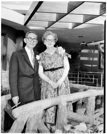 50th Wedding Anniversary, 1956