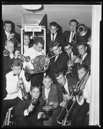 Glendale High School band, 1960