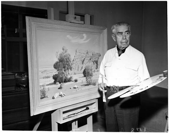 Jimmy Swinnerton art, 1960