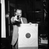 Morgan crack pistol shot, 1954