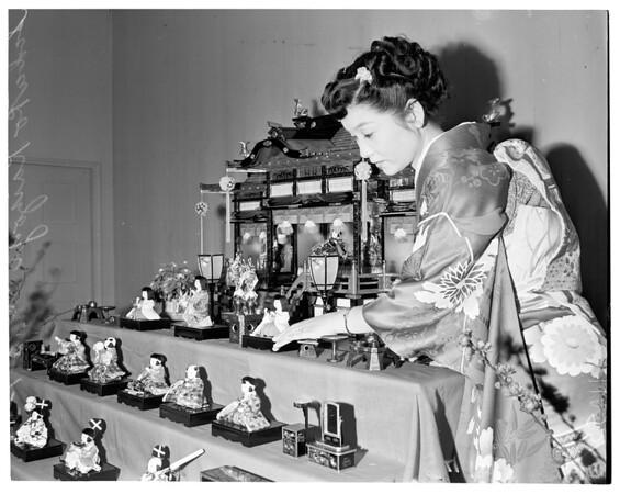 Japanese doll festival, 1954