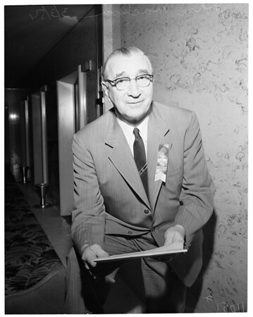 New President of Association, General Contractors, 1954