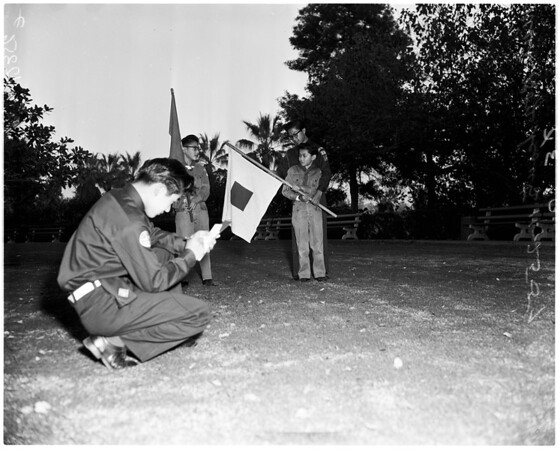 Nisei Scouts feature, 1958