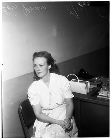 Pasadena Death Mystery, 1955