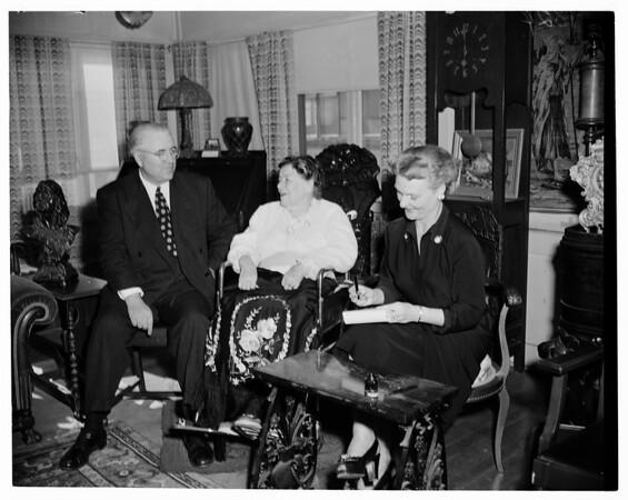 Allie Sacks hearing, 1953