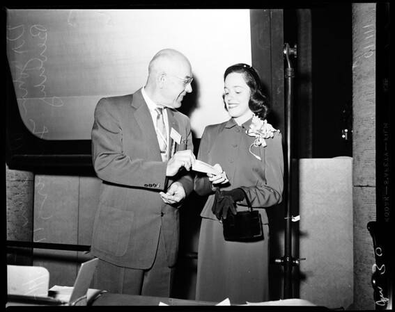 California Medical Association Award, 1954