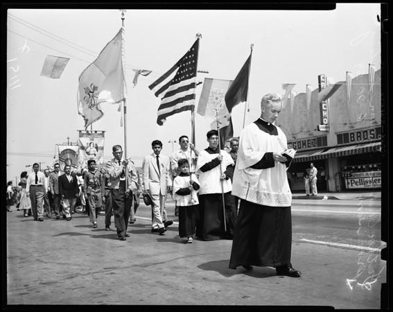 28th Annual Corpus Christi Procession, 1954