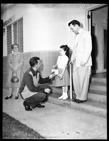 Child custody case, 1954
