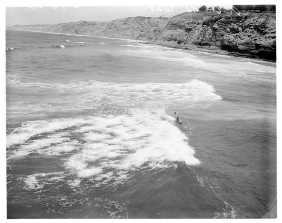Remote underwater manipulation test (United States Navy), 1960