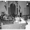School kids run Senate (in action), City Hall, 1954