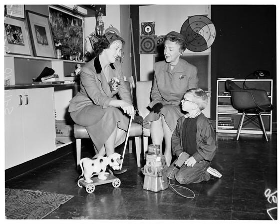 Society -- Child Guidance Clinic, Children's Hospital, 1955