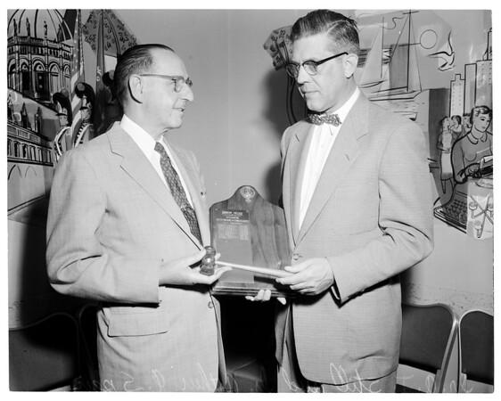 Osteopaths, 1954