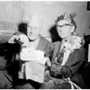 Sixtieth wedding anniversary, 1956