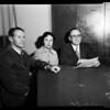 Bank robbery (California Bank at 6th and Grand), 1955