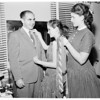 Father -- Daughter banquet, 1957
