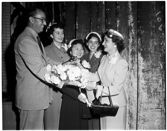 Business Conference at Los Angeles Metropolitan Junior College, 1954