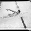 National Swim Meet entries, 1955