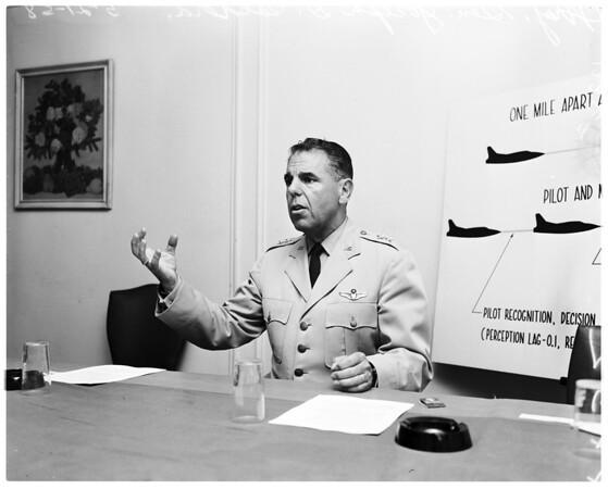 Air Force general, 1958