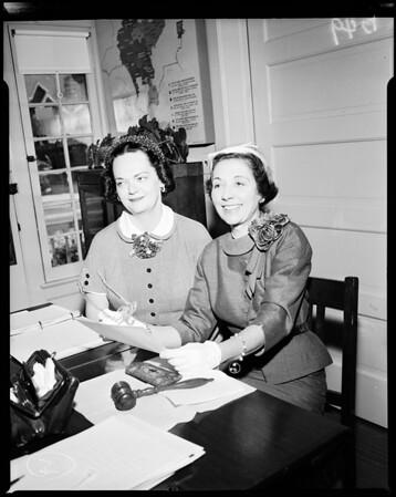 Association: Visiting Nurse Association headquarters, 1954