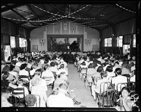"""""""Parents Day"""", St. John Bosco School, Bellflower, 1954"""