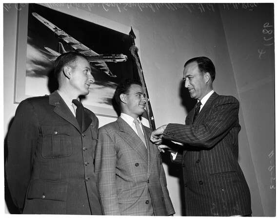 Air Force Reserve awards, 1953